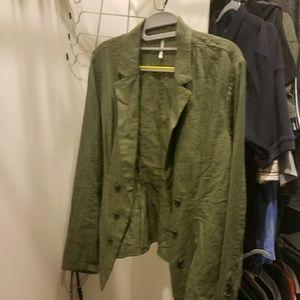 M Sage Green FP Blazer